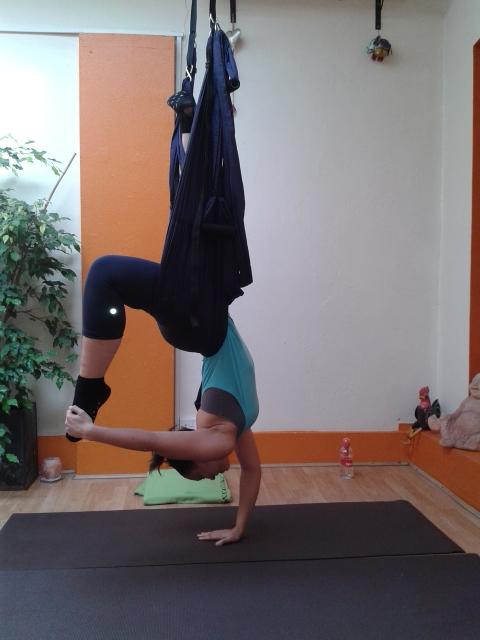 Aerial yoga london