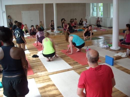 Toni Osborne Yoga arm balancing