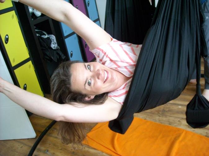 Nikkita, the other half of Free Hot and Happy, swinging freeeeee!