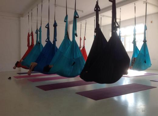 Adaptive Aerial Yoga London