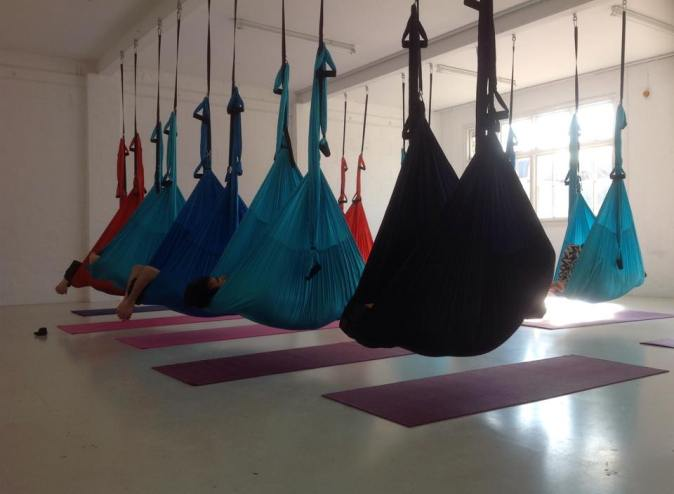 Adaptive Aerial Yoga London