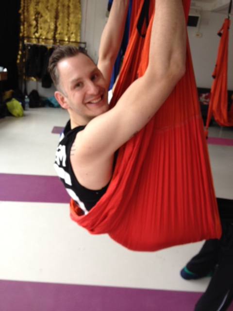Aerial Yoga London Review