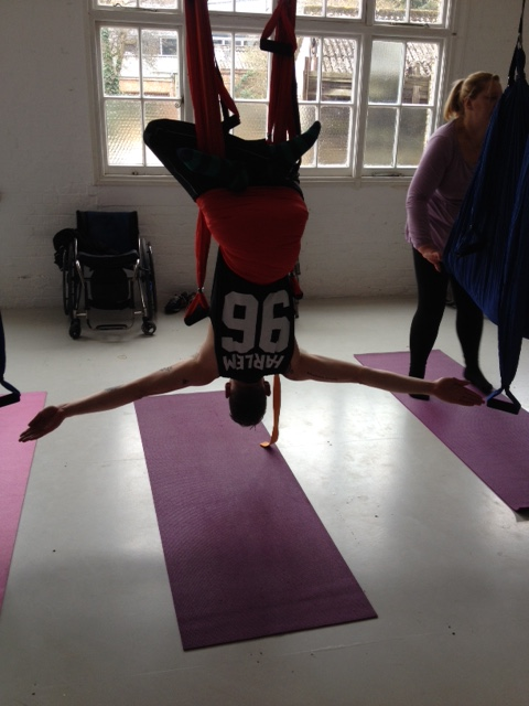 Adaptive aerial yoga london review