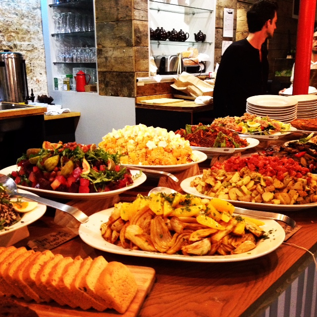 Buffet at Counter Albion- DROOL!