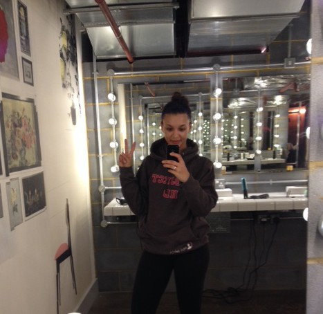 Selfie no.473 in the sexy 1Rebel mirrors. They lend themselves to instaposts, what can I say?! #KingOfGyms
