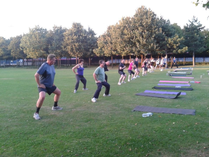 Shenda Falvey bootcamp in North Greenwich