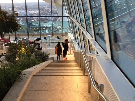 Sky Garden Yoga Review (Walkie Talkie)