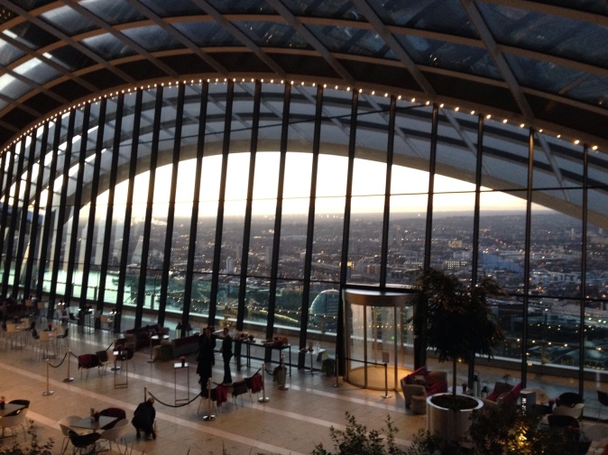 Sky Garden Yoga Review (Walkie Talkie)