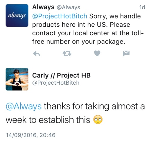 scented sanitary towels always rant