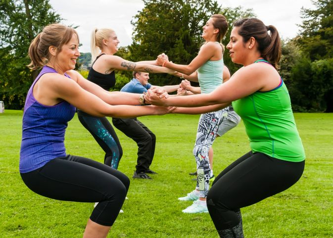 Corporate group fitness and training in Bristol. Motivate your employees and look after their wellbeing!